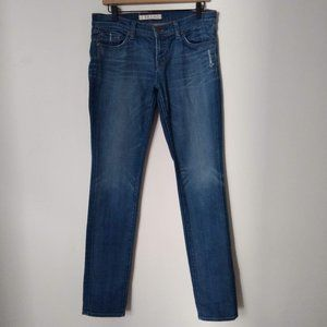 J Brand Pencil Leg Skinny Dark Wash Jeans